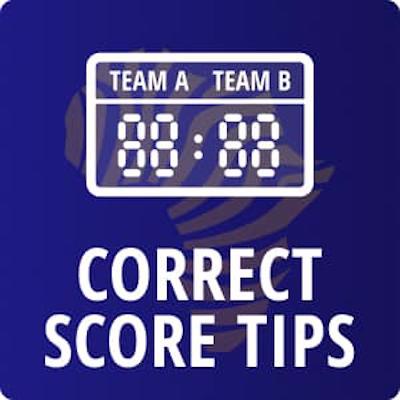 correct score football tips logo