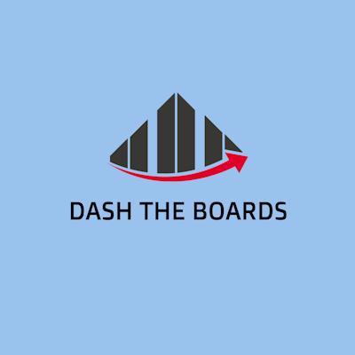 DASH THE BOARDS logo