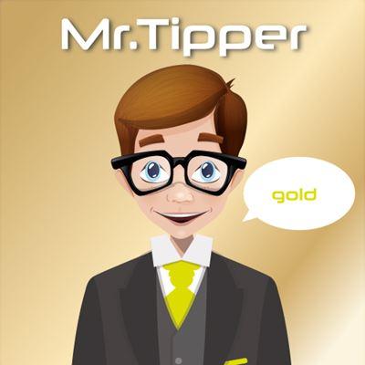 Mr.Tipper - Gold logo