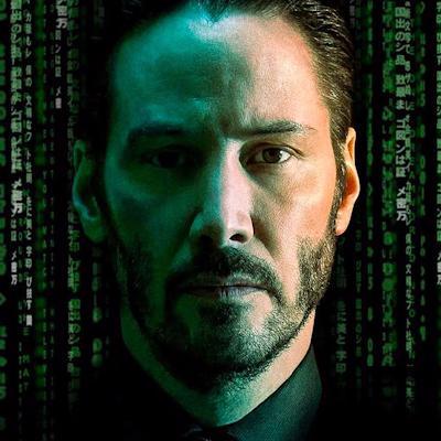 Neo from Matrix logo