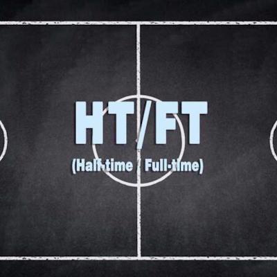 super half time full time logo