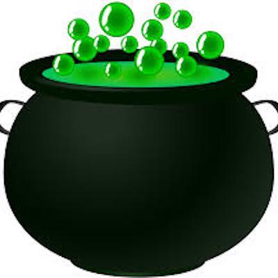 The cauldron that wins logo
