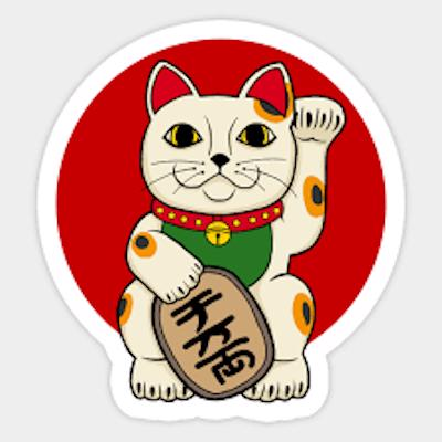 The Lucky Cat logo