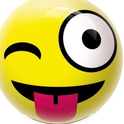 Yellow ball logo