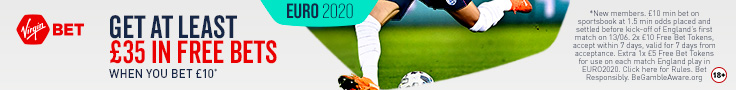 Bet £10 Get £20 + a £5 free bet for each England game